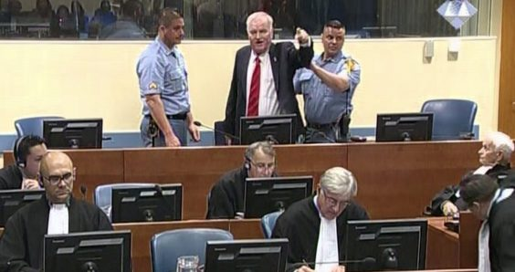 The Hague tribunal finds Ratko Mladic guilty of genocide, crimes against humanity