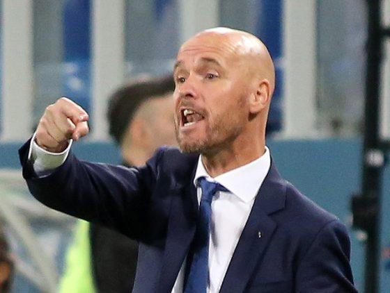 Ajax manager Erik ten Hag
