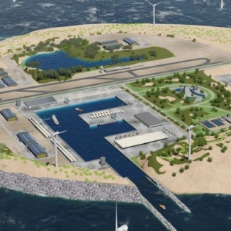 Is this the future? The Dutch plan a vast wind farm on a North Sea island