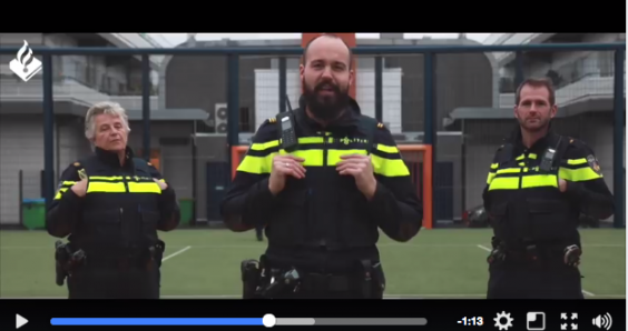 The Hague police become rappers: 'you'd better not fok with our beat'