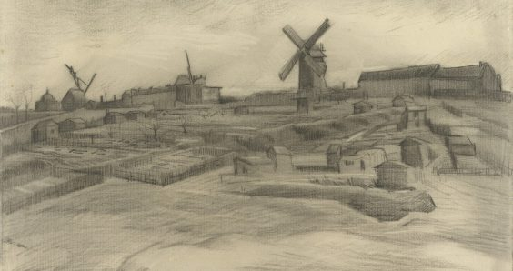 Drawing of Montmartre in Paris is by Vincent van Gogh, experts confirm
