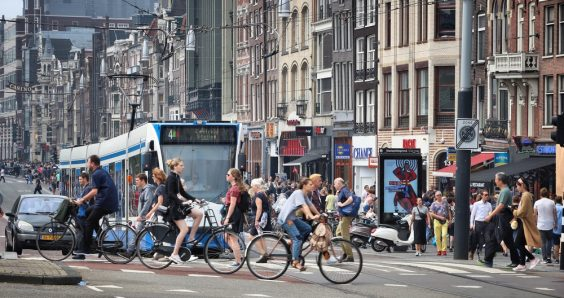 In Amsterdam 44% of cyclists don't feel safe: ANWB calls for action