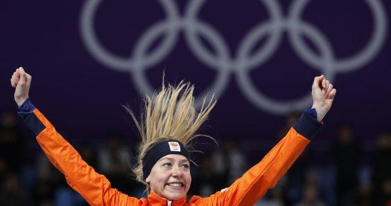 Esmee Visser is surprise winner of 5,000 metres gold medal
