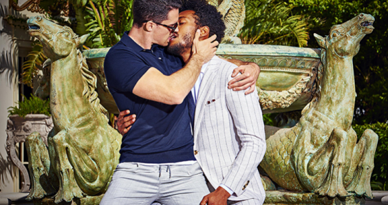 Suit Supply ad featuring kissing couple lays bare lack of acceptance of gay men