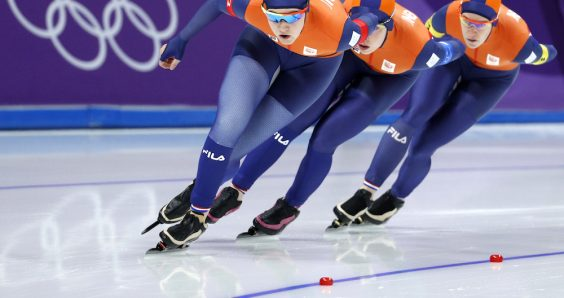Silver and bronze for the Netherlands in speed skating team pursuit