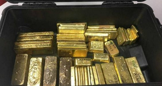 Venezuelan heading for the Netherlands is arrested with 46 gold bars
