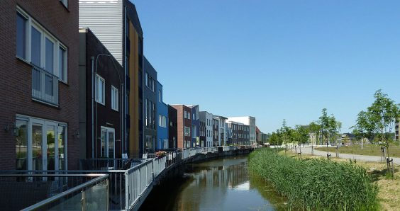 Population hits 400,000 on land reclaimed from the IJsselmeer
