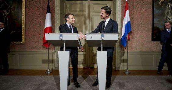 Rutte and Macron exchange views on EU finances ahead of key summit