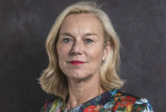 Portrait of D66 leader Sigrid Kaag