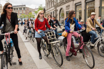 A cycling nation: how the bike impacts on Dutch society