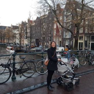 'I couldn't get over how perfect Amsterdam looked, like a postcard'