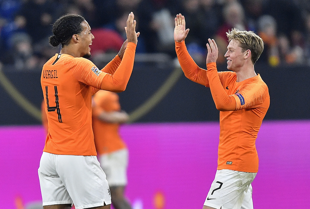 Liverpool star hails Dutch fighting spirit against Germany