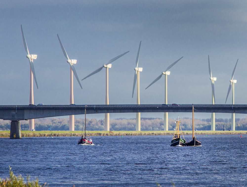 March Gales Help Push Wind Turbine Energy Production To