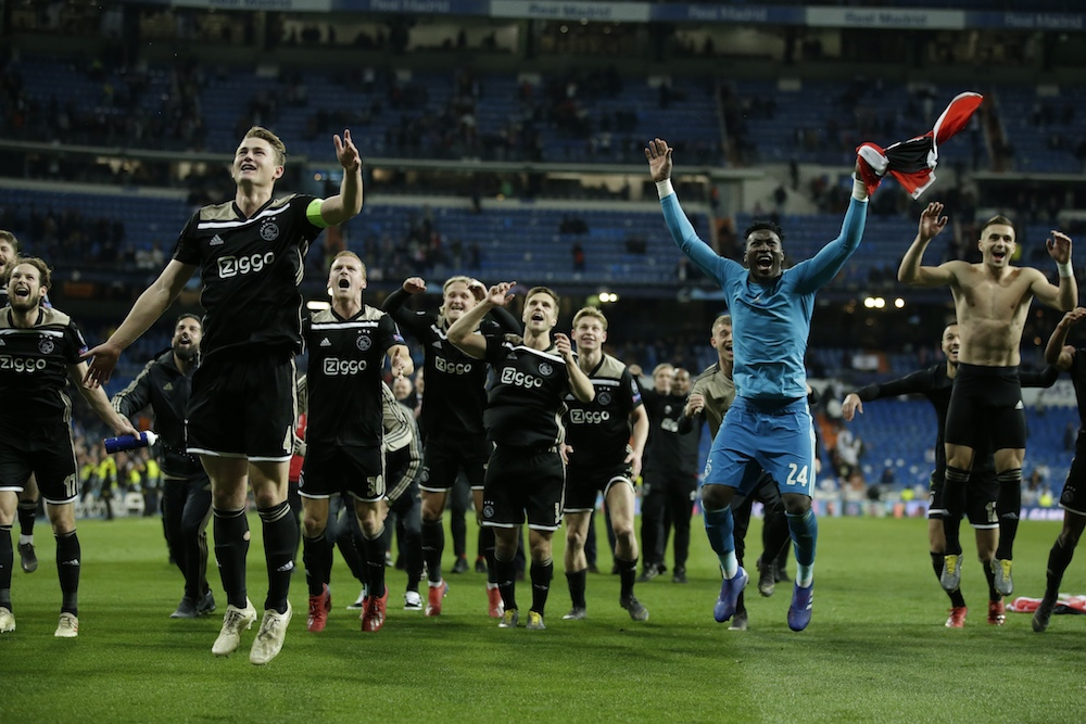 Ajax beat Juventus to make first Champions League semi ...