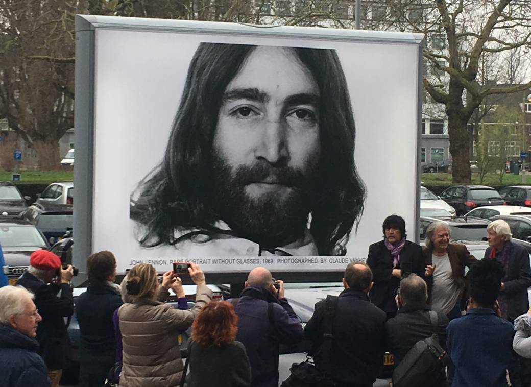 John Lennon and Yoko Ono's bed-in for peace returns to Amsterdam