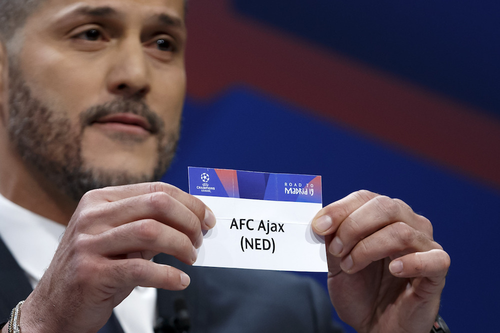 Ajax Draws Juventus In Champions League Quarter Finals Dutchnews Nl