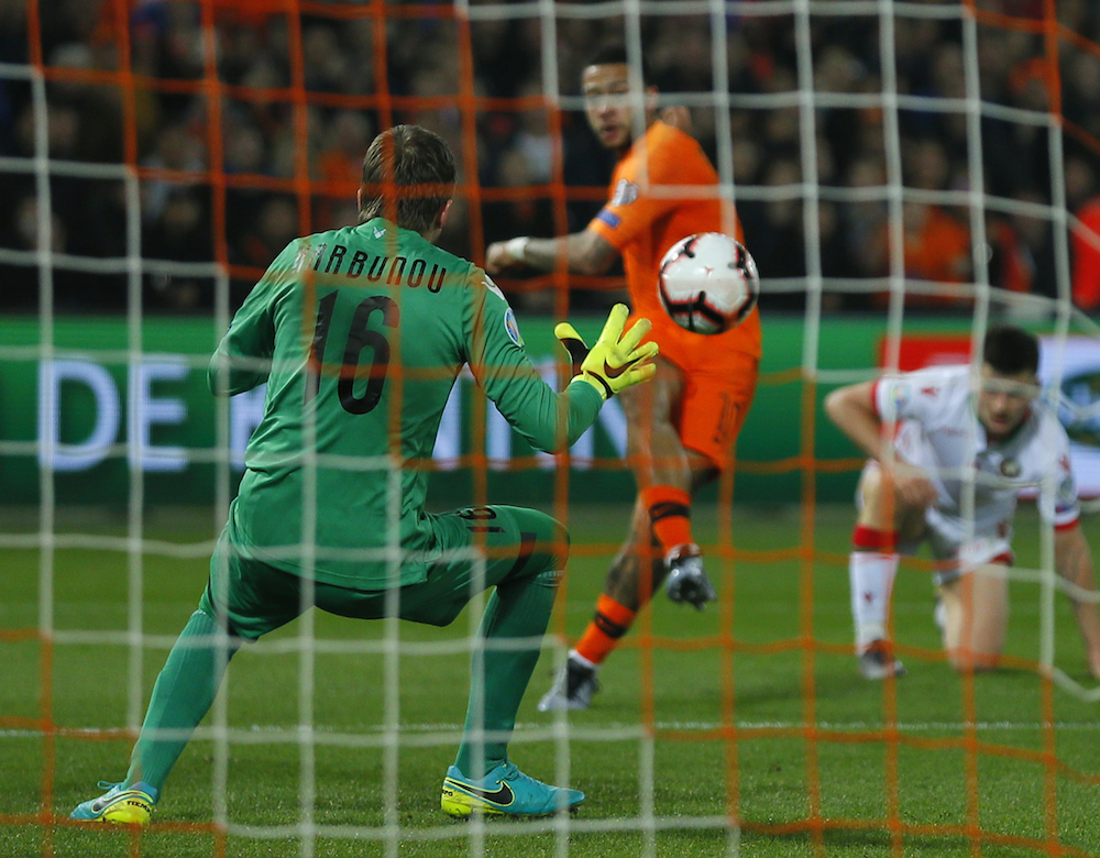Oranje kick off Euro 2020 campaign with 4-0 win over Belarus
