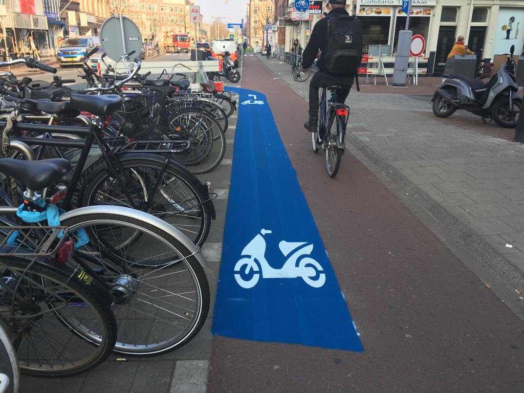 Amsterdam's moped cycle path ban is working, accident rate down - DutchNews.nl