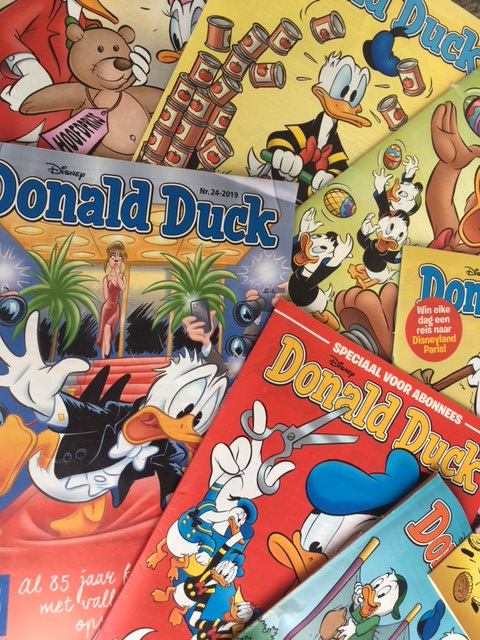 Donald Duck is 85 and still going strong in the Netherlands