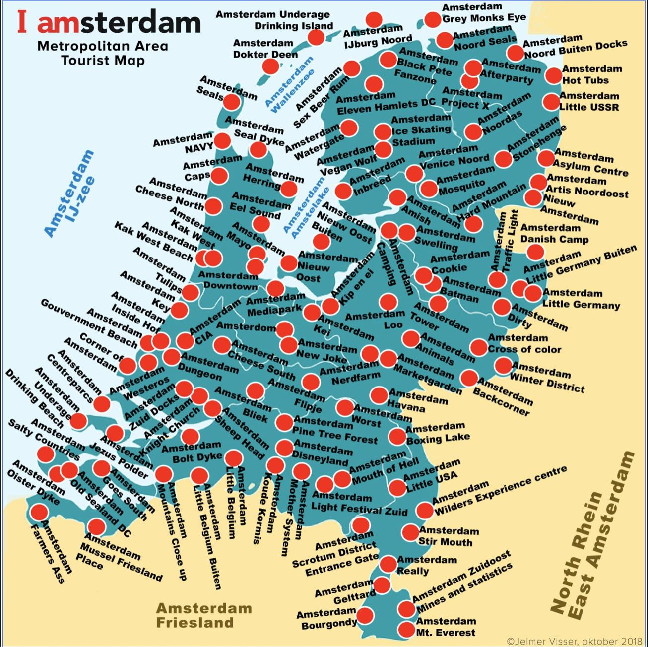 What\'s in a name? The new tourist map of Amsterdam ...