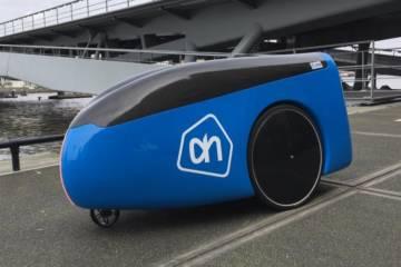 Albert Heijn trials driverless robot that delivers groceries to your door