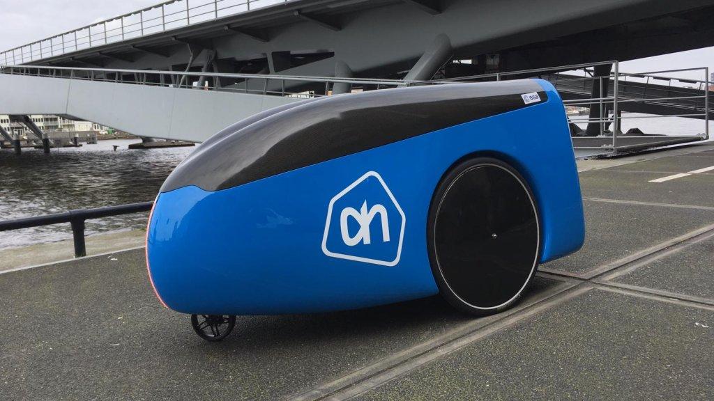 Albert Heijn trials driverless robot that delivers groceries to your door - DutchNews.nl - Live