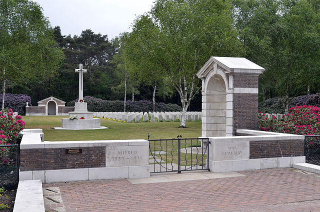 Fury and disbelief in Mierlo as vandals spray war graves with swastika, graffiti - DutchNews.nl