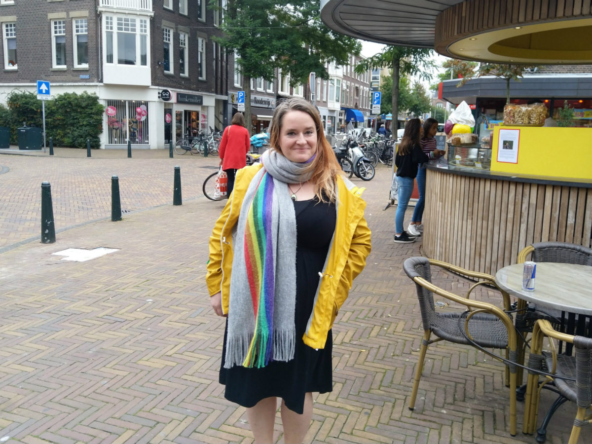 Matty Mitford in her new home town of The Hague