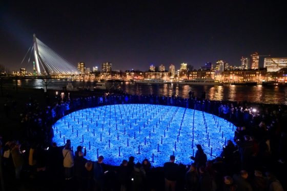 The light of lives: monument to 104,000 people killed in the Holocaust - DutchNews.nl