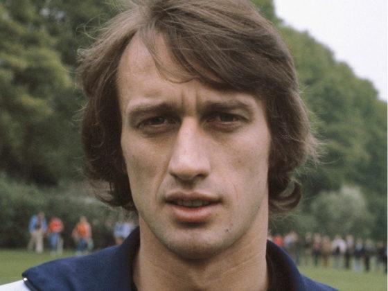 Portrait of Rob Rensenbrink in 1978