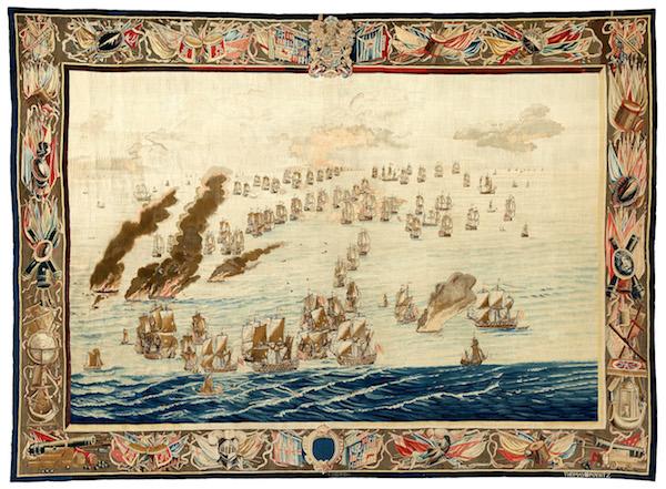 Maritime Museum buys rare 17th century English tapestries - DutchNews.nl