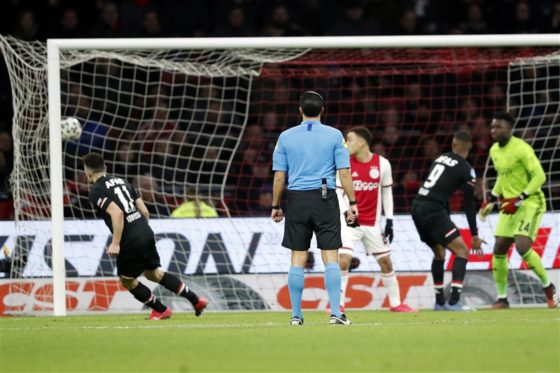 Oussama Idrissi puts the ball in the net in the 63rd minute but the goal was disallowed