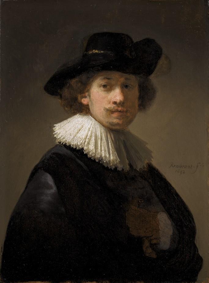 Автопортрет молодого Рембрандта выставлен на продажу на аукционе в Лондоне за 15 млн.евро