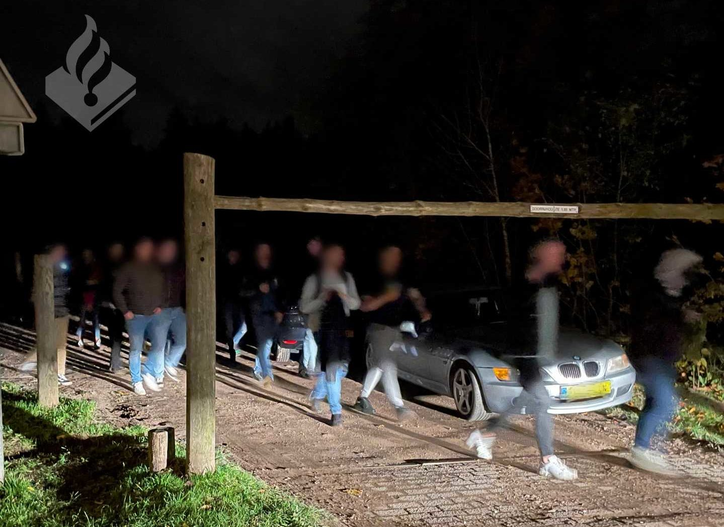 Police break up parties as 300 gather for rave on Hilversum building site