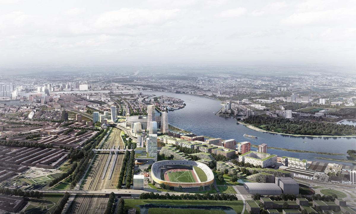 New Feyenoord Stadium Comes A Step Nearer As Rotterdam Backs New Zoning Plan Dutchnews Nl
