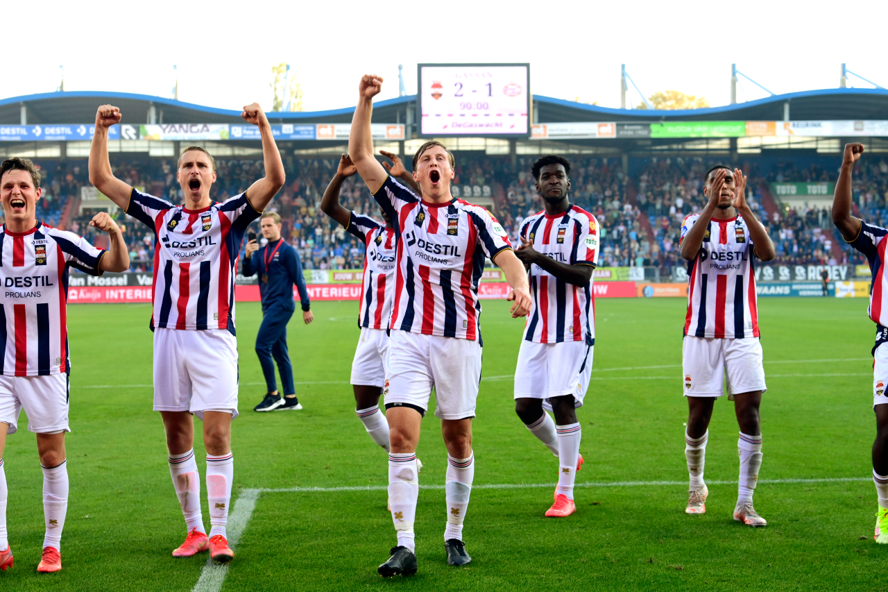 Willem II move up to second with Brabant derby win as Ajax march on - DutchNews.nl